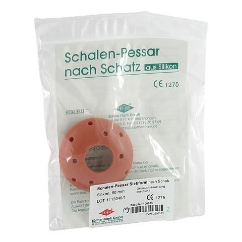SIEBPESSAR Silikon 60 mm nach Schatz 1 Stück