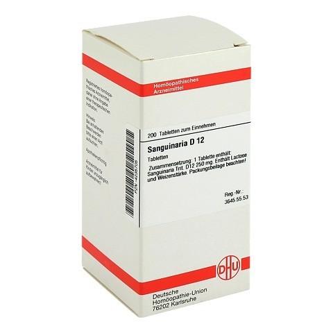 SANGUINARIA D 12 Tabletten 200 Stück N2