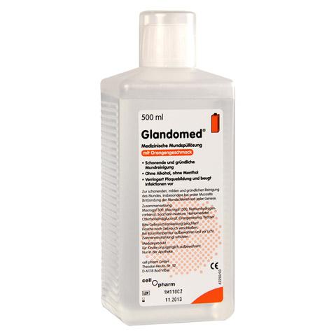 GLANDOMED Spüllösung 10x500 Milliliter