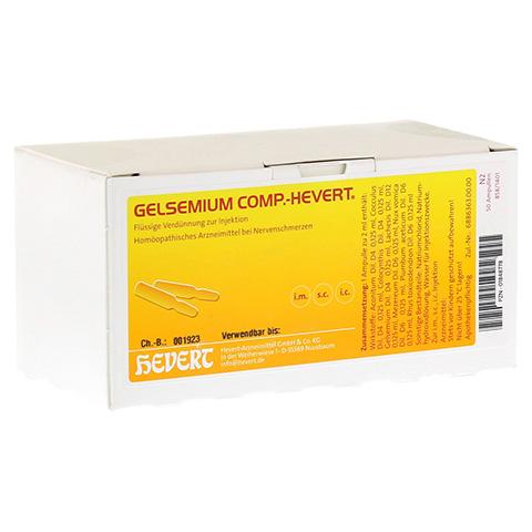 GELSEMIUM COMP.Hevert Ampullen 50x2 Milliliter N2
