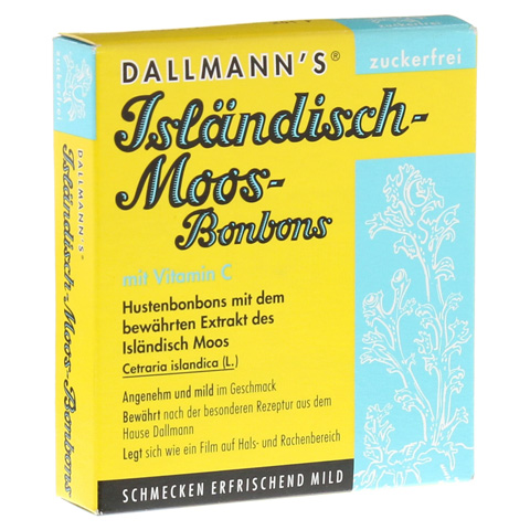 DALLMANN'S Isländisch Moos-Bonbons zuckerfrei 20 Stück