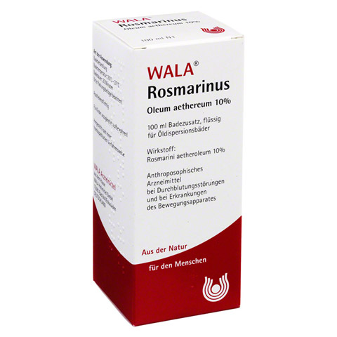 ROSMARINUS OLEUM aethereum 10% 100 Milliliter N1