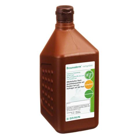BRAUNODERM nachgef�rbt 1 Liter