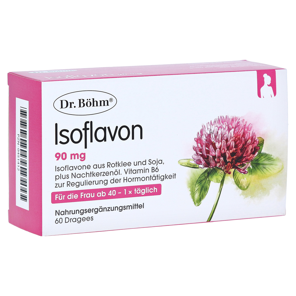 ISOFLAVON 90 mg Dr.Böhm Dragees 60 Stück