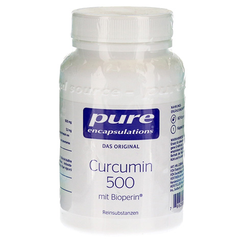 PURE ENCAPSULATIONS Curcumin 500 mit Bioperin Kps. 60 St�ck