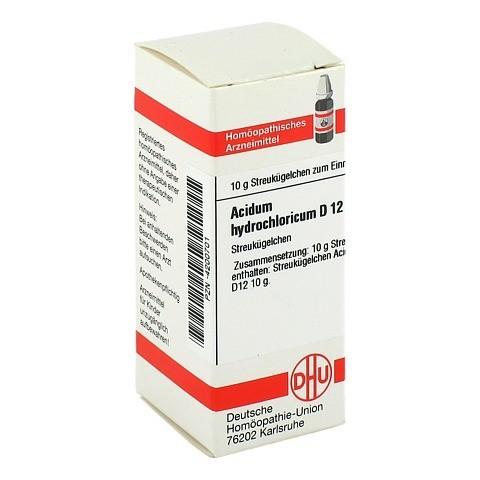 ACIDUM HYDROCHLORICUM D 12 Globuli 10 Gramm N1