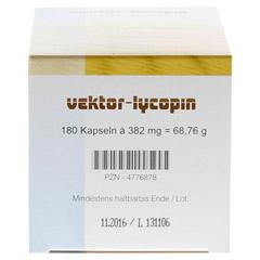 VEKTOR Lycopin Kapseln 180 Stück - Oberseite