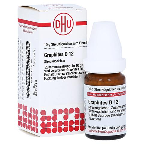 GRAPHITES D 12 Globuli 10 Gramm N1