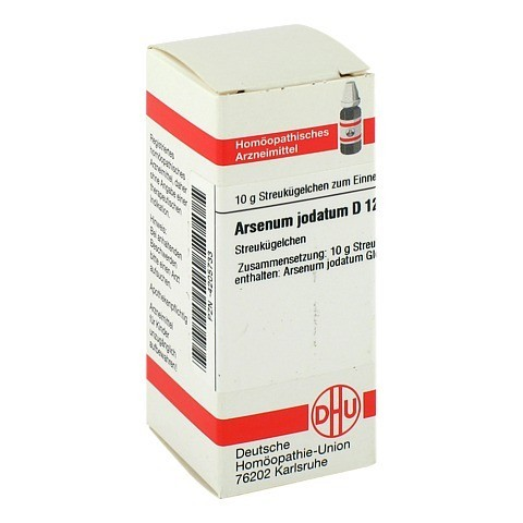 ARSENUM JODATUM D 12 Globuli 10 Gramm N1