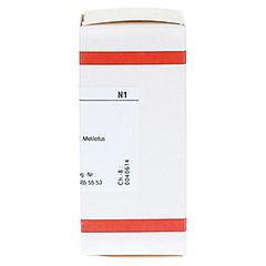 MELILOTUS OFFICINALIS D 6 Tabletten 80 Stück N1 - Rechte Seite