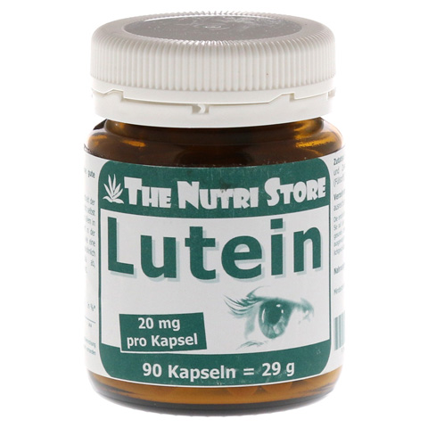 LUTEIN 20 mg Kapseln 90 St�ck