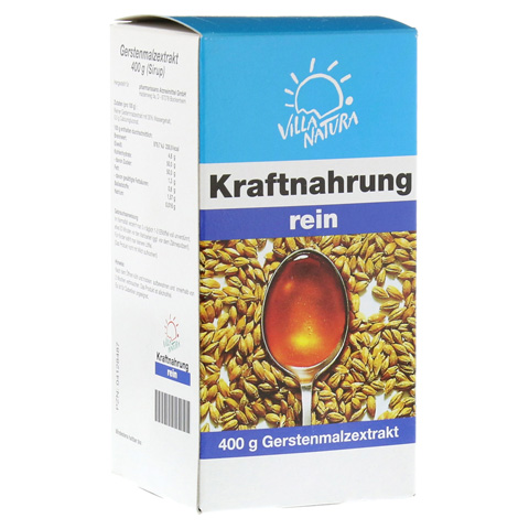 VILLA NATURA Kraftnahr.Biomalt rein Tonikum 400 Gramm