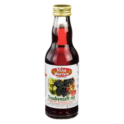 VITAGARTEN roter Traubensaft+Eisen Einwegflasche 200 Milliliter