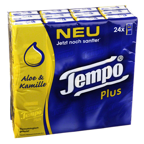 TEMPO Plus Taschent�cher 24x9 St�ck