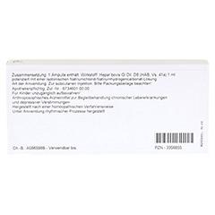 HEPAR GL D 8 Ampullen 10x1 Milliliter N1 - Rückseite
