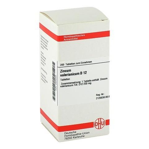 ZINCUM VALERIANICUM D 12 Tabletten 200 Stück N2