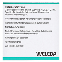 EUPHRASIA D 3 Einzeldosen-Augentropfen 10x0.4 Milliliter N1 - R�ckseite