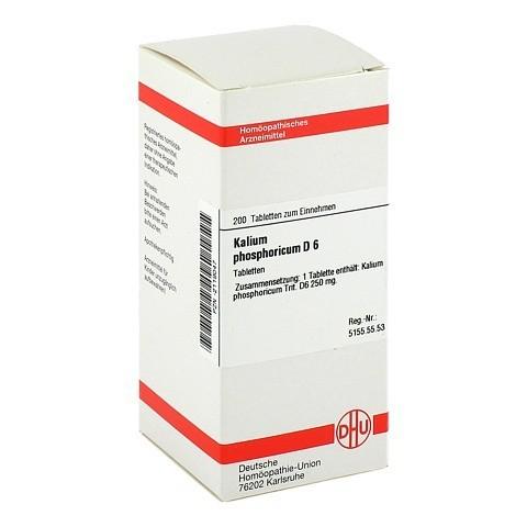 KALIUM PHOSPHORICUM D 6 Tabletten 200 Stück N2