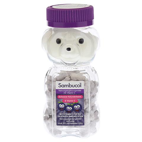 SAMBUCOL kaubare Teddys für Kinder 60 Stück