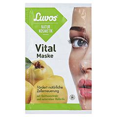 LUVOS Naturkosmetik Heilerde Vital Maske 2x7.5 Milliliter