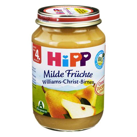 HIPP Fr�chte Williams Christ Birnen 190 Gramm
