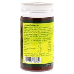 Guarana Tabletten 200 mg Extraktpulver 100 St�ck - Linke Seite