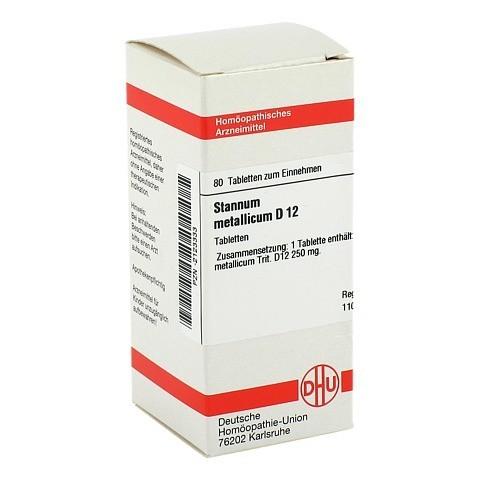 STANNUM METALLICUM D 12 Tabletten 80 Stück N1