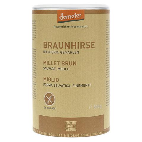 BRAUNHIRSE Bio Pulver 500 Gramm