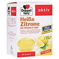 DOPPELHERZ hei�e Zitrone Vitamin C+Zink Granulat 10 St�ck