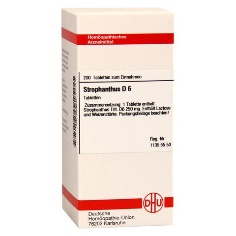 STROPHANTHUS D 6 Tabletten 200 Stück N2