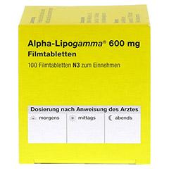Alpha-Lipogamma 600mg 100 St�ck N3 - Rechte Seite