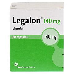 Legalon forte 60 Stück N2 - Rückseite