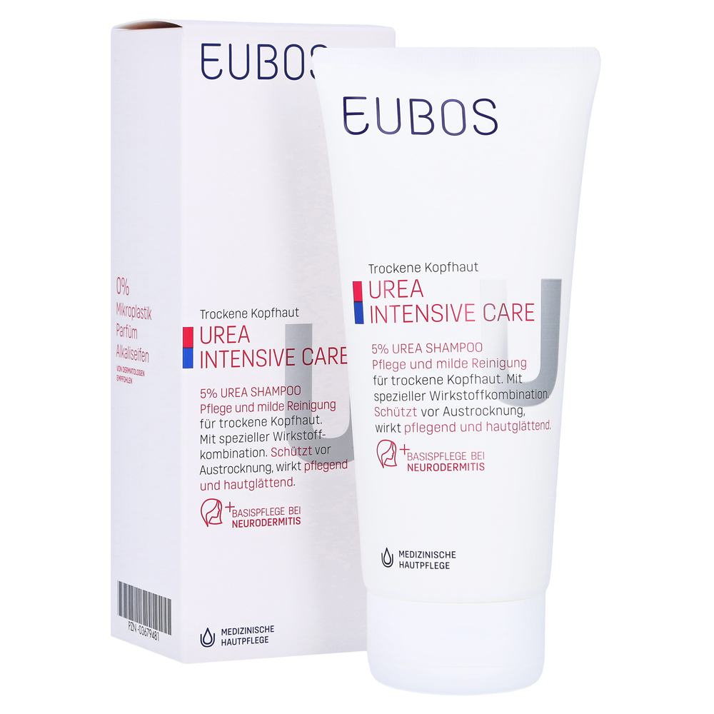 erfahrungen zu eubos trockene haut urea 5 shampoo 200 milliliter medpex versandapotheke. Black Bedroom Furniture Sets. Home Design Ideas