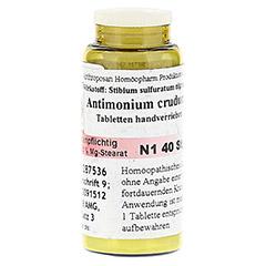 ANTIMONIUM CRUDUM D 6 Tabletten 40 St�ck N1 - Vorderseite