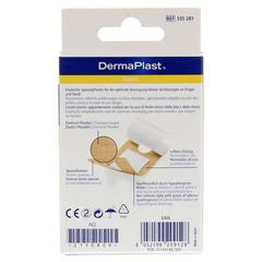 DERMAPLAST elastic Fingerpflaster 4 Größen 16 Stück - Rückseite