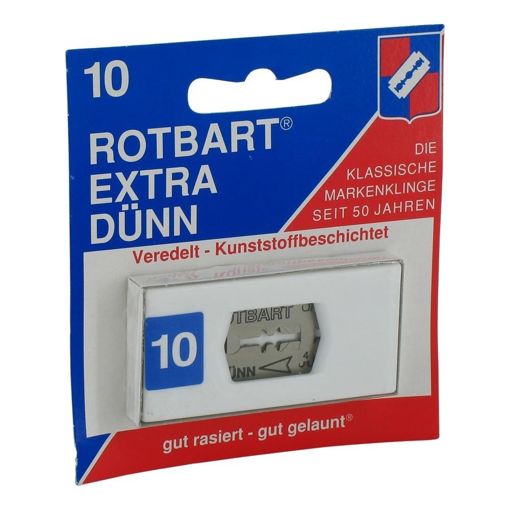 Erfahrungen zu ROTBART extra dünn 162 10 Stück  medpex