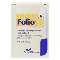 FOLIO+D3 Filmtabletten 60 St�ck - Vorderseite