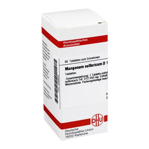 MANGANUM SULFURICUM D 12 Tabletten 80 Stück N1
