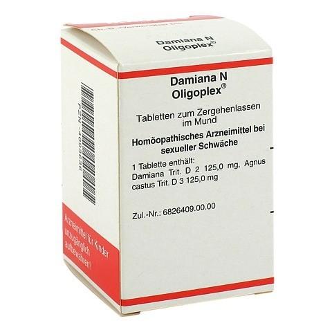 DAMIANA N Oligoplex Tabletten 150 St�ck N1