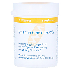VITAMIN C MSE Matrix Tabletten 90 St�ck