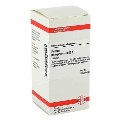 FERRUM PHOSPHORICUM D 4 Tabletten 200 Stück N2