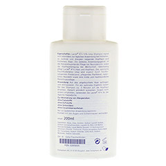 LACTEL Nr. 4 Shampoo gegen trockene, juckende Kopfhaut 200 Milliliter - Rückseite