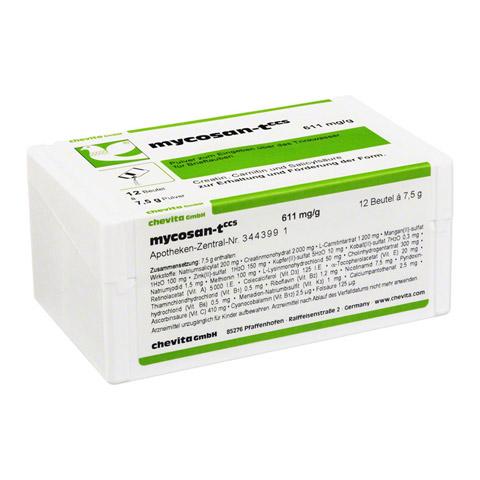 MYCOSAN-T CCS Pulver f.Tauben 12x7.5 Gramm