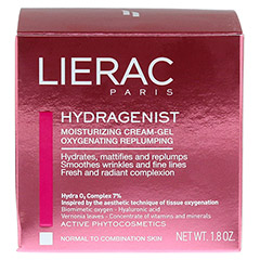 LIERAC Hydragenist Gel-Creme 50 Milliliter - Vorderseite