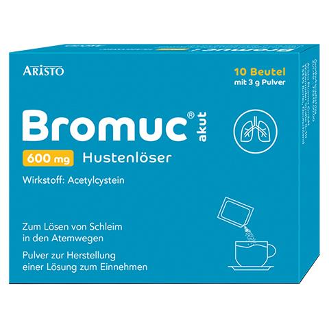 Bromuc akut 600mg Hustenlöser 10 Stück