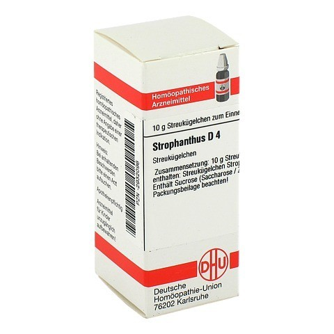 STROPHANTHUS D 4 Globuli 10 Gramm N1