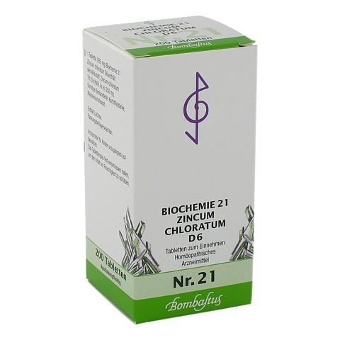 BIOCHEMIE 21 Zincum chloratum D 6 Tabletten 200 Stück N2