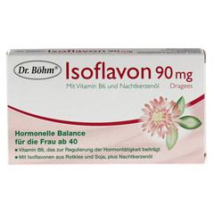 ISOFLAVON 90 mg Dr.Böhm Dragees 30 Stück - Vorderseite