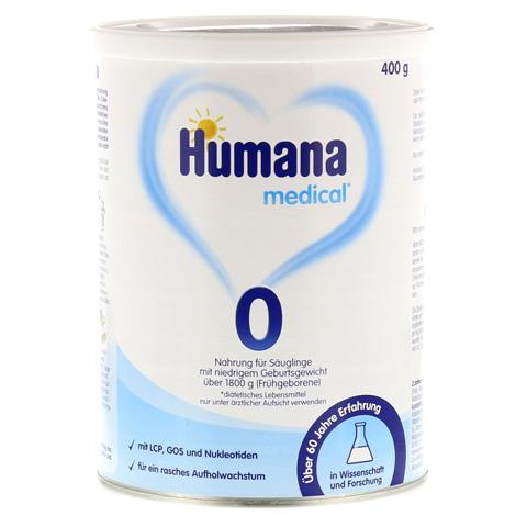 HUMANA 0 Pulver 400 Gramm