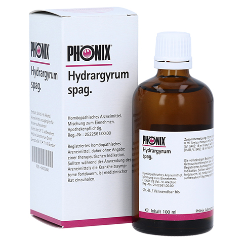 PHÖNIX HYDRARGYRUM spag. Tropfen 100 Milliliter N2